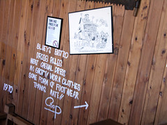 Cartoon pub (Roving I) Tags: signs tourism australia humour queensland vernacular cartoons sunshinecoast slang strine ettamogahpub colloquiallisms