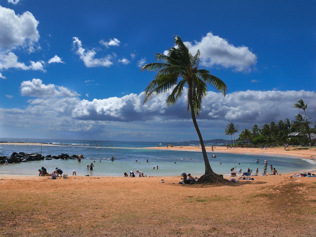 POIPU BEACH, KAUAI by TLPOSCHARSKY, on Flickr