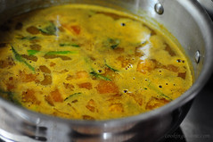 Murungakai Tiffin (Moong Dal) Sambar Recipe