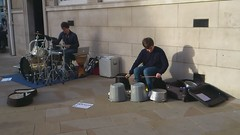 Ipswich iDrum buskers (The original SimonB) Tags: drums suffolk sonyericsson january buskers drummer drumming busking ipswich idrum 2011 xperiaarcs
