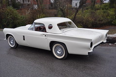 """1957 Ford Thunderbird E Code Dual Quad 312 • <a style=""""font-size:0.8em;"""" href=""""http://www.flickr.com/photos/85572005@N00/6703719055/"""" target=""""_blank"""">View on Flickr</a>"""
