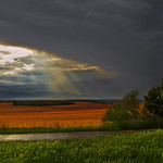 Light in the sky... - Cariñena