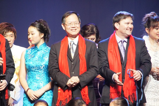 Vancouver Spring Show 2012 温哥华欢乐春节晚会Celebrates the Chinese New Year (The Dragon龙年) at The Centre on Jan 15, 2012