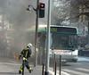 Incendie Paris / Bus 63 Rue des Ecoles le 25 mars 2011 (famille.sebile) Tags: ratp incendie sapeurspompiers bspp brigadedessapeurspompiersdeparis incendieparis feudebus feudebusratp