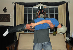Family Face Down Gas Mask Fun (Detroit Bulldog) Tags: gasmasks facedown facedowntuesday detroitbulldog tuesdayisafunday