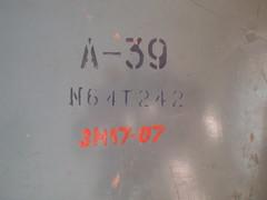 Soviet A-39 Aerial Camera (1964) (heritagefutures) Tags: camera lens with recording 1964 100m fitted a39 photoreconnaissance zavod komz kazanskii bombingdamage optikomekhanicheskii uran27
