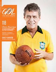 Capa Revista Gol Chico Buarque (