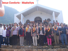 Opening Ceremony of Jesus Comforts Church in Maskeliya (JesusComforts) Tags: maskeliya jesuscomforts churchesinsrilanka