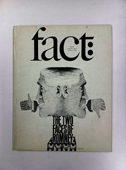 The Two Faces of Romney cover designed by Herb Lubalin, illustration by Etienne Delessert. 1967 (Herb Lubalin Study Center) Tags: illustration magazine cover 1967 lubalin herblubalin georgeromney factmagazine etiennedelessert ralphginzburg