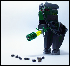 Type-86 AI-class Alien Drone (point Blanc Productions) Tags: robot lego bricks alien aliens type mecha