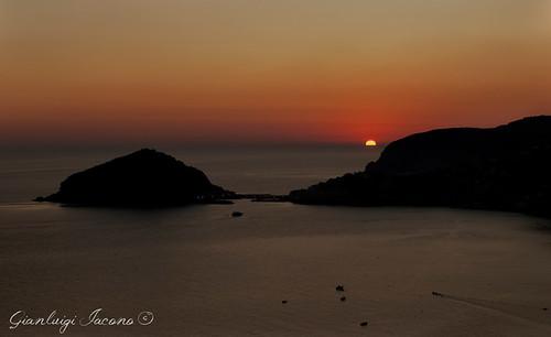 Maronti al sol calante - Isola d'Ischia