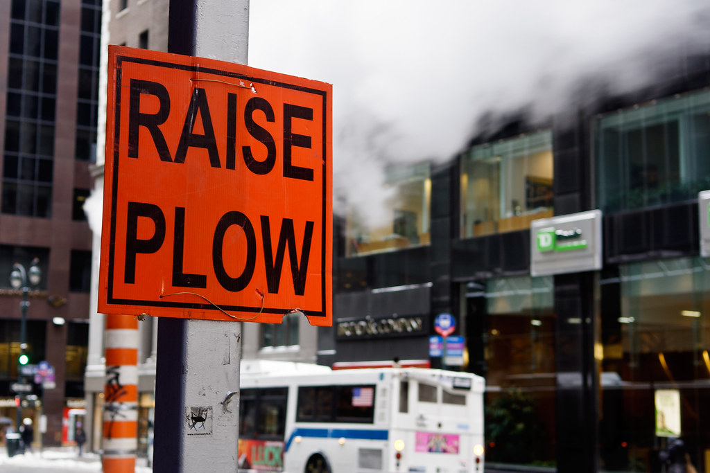 Raise Plow
