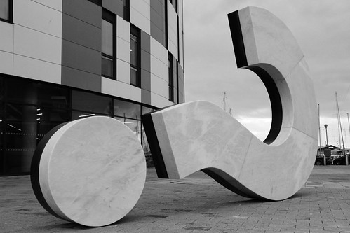 Question mark, Ipswich, 21 January 2012 by ed_needs_a_bicycle, on Flickr