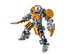 Goldylox (Cam M.) Tags: boss pet pose gold cool lego awesome pearl corp epic mecha mech hardsuit