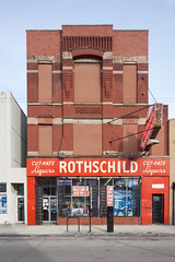 Rothschild Cut-Rate Liquors (metroblossom) Tags: chicago building retail cut commercial w