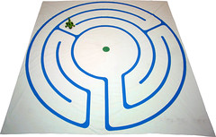Story Path (wplynn) Tags: art painting children paint indianapolis experiment indiana canvas formation journey prototype labyrinth storypath godlyplay christianeducation paxworks worshipandwonder