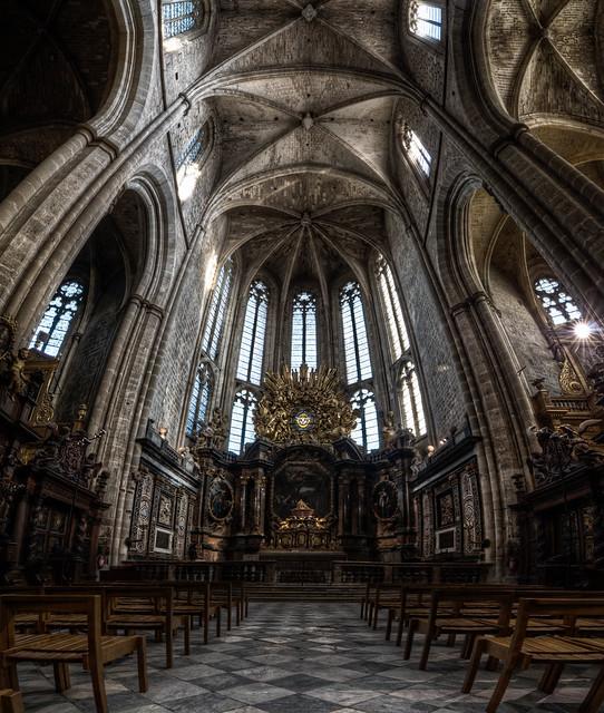 france church nikon cathedral interior provence hdr stmaximin 2011 vertorama