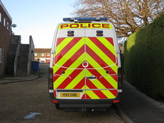 Hampshire Police Mercedes Sprinter Public Order Van ( HX11 GNK ) (Callum999Pics) Tags: uk blue light england public lights mercedes riot order britain head flash rear police hampshire dash leds van reds battenburg 999 sirens livery sprinter tsg strobes constabulary rotaters hx11 gnk