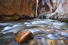 IMG_8812 (Simon J Byrne) Tags: park street water wall canon river long exposure north fork canyon hike virgin national 5d zion 1740 narrows mkii