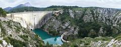Barrage de Bimont (albertlecuistot) Tags: panorama france iso200 turquoise sony f45 pancake 16mm 1500 barrage sud panoramique nex bimont nex5