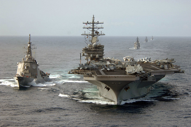 USS Ronald Reagan (CVN 76), At sea (March 17, 2007) -
