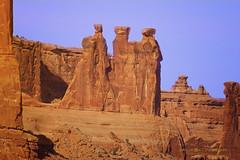 Greetings (Aspenbreeze) Tags: utah redrocks archesnationalpark moabutah aspenbreeze thethreemonks