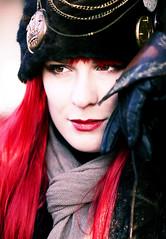 ~ Malou (Inge Fienieg) Tags: winter portrait people holland netherlands costume nederland fantasy portret malou mensen fantasie kostuum midwinterfair midwinterfairarcheon midwinterfair2011