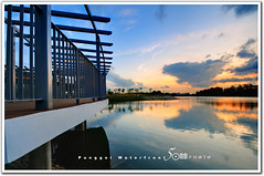 singapore Punggol-Serangoon Reservoir (fiftymm99) Tags: park new bridge sunset lake island town nikon singapore waterfront riverside reservoir punggol riverwalk d300 fiftymm99 gettyimagessingaporeq2