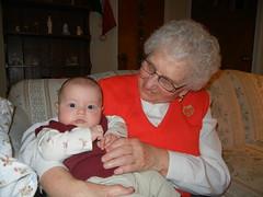 Nana with Leo
