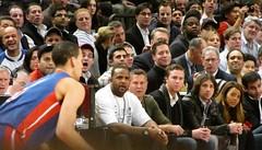 Front Row Celebrities (STEVESD) Tags: ny newyork celebrity basketball celebrities knickerbockers msg madisonsquaregarden nba baloncesto nuevayork knicks ccsabathia thebachelor angelasimmons benflajnik