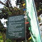"Sign at Pemayangtse Monastery <a style=""margin-left:10px; font-size:0.8em;"" href=""http://www.flickr.com/photos/14315427@N00/6829402023/"" target=""_blank"">@flickr</a>"