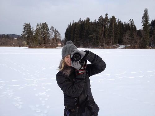 Myrthe mit meine Kamera
