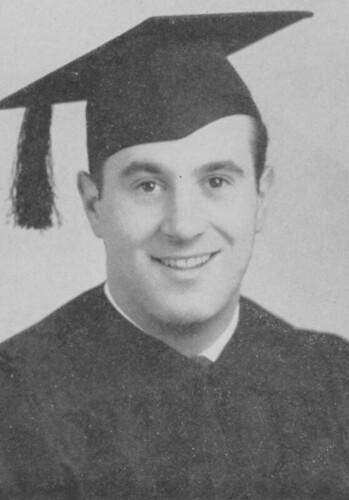 Albert R. Santucci's Senior Portrait, 1943