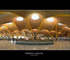 Terminal 4 Barajas-Richard Rogers (KeyFotografia) Tags: madrid wood colors airport madera colores aeropuerto t4 terminal4 barajas richardrogers premiopritzker prizepritzker