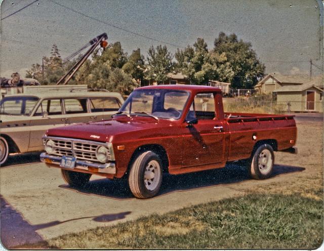 cars ford pickup courier oldphotos minitruck scannedphotosmisc