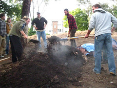 Turning the hot compost pile_4684518644_l