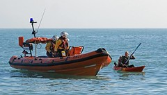 Looe RNLI - Net Recovery Training (fozimage) Tags: atlantic 75 looe rnli banjopier looebay eastlooebeach d741 b793 fozimage