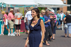 Festival of the Arts (Matthew R photography) Tags: arizona people art candid streetphotography az event cleavage tempe 2014 canon85mmf18 festivalofthearts millave