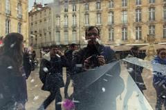2014/02/22 15h28 place du Parlement Sainte-Catherine (Valéry Hugotte) Tags: selfportrait autoportrait bordeaux saintecatherine placeduparlementsaintecatherine