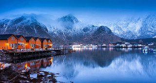 Arctic Orange | Ballstad, Lofoten, Norway