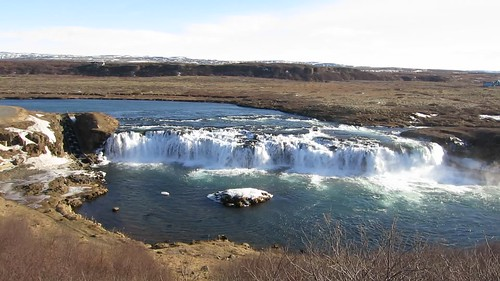 Faxi Waterfall, Bláskógabyggð