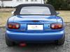 05 Mazda MX5 NA 1989-1998 Verdeck mit RENOLIT Flexglas und seitlichen Regenrinnen bs 02