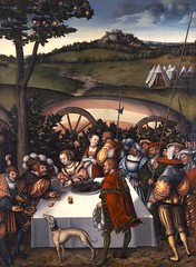 Cranach d. A., Lucas - Judith an der Tafel des Holofernes. c.1531_Gotha, Schlossmuseum Schloss Friedenstein, Gemaldesammlung, Inv. Nr. SG 674. 98,5 x 72,5 cm, Lindenholz (gorbutovich) Tags: religious highresolution salome