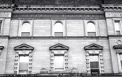 Federal building (Bill Smith1) Tags: hc110b olympusom4 hamiltonon berggerbrf400 zuiko50f14lens filmshooterscollective spring2016 heyfsc billsmithsphotography