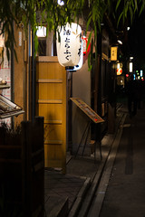 the night we called it a day (on islands) Tags: street japan night lights kyoto   pontocho