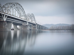 Kyiv IV (philippdase) Tags: city longexposure bridge winter landscape fisherman kiev kyiv nikond7100 sigma1835mm18 philippdase