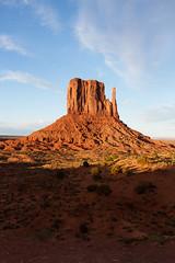 Another Vertical of the Left Mitten (jpmckenna - Denali Bound) Tags: arizona landscape sandstone desert highdesert monumentvalley navajotribalpark getoutside iconicamericansouthwest