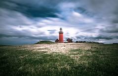 Bovbjerg Fyr (Andrea Securo) Tags: lighthouse travelling landscape denmark landscapes sand dunes dk lands fyr rubjerg bovbjerg knude