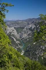 Prendre de la hauteur *---- ° (Titole) Tags: trees france rocks valley provence verdon lesgorgesduverdon explored titole nicolefaton