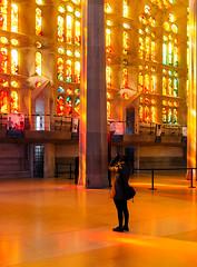 Crazy colors (lorenzoviolone) Tags: barcelona trip travel light church window crazy spain colorful basilica religion columns journey finepix gaudi fujifilm catalunya sagradafamilia magical fujiastia100f fav10 fav25 mirrorless vsco vscofilm fujix100s x100s fujifilmx100s travel:spain=barcelona2015